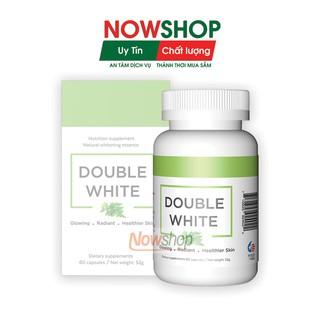Double White - Viên uống trắng da, giảm nám, mờ thâm, bổ sung Glutathione, tăng sinh Collagen giúp đẹp da, chống nắng thumbnail