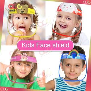 Mặt nạ trẻ em Mặt nạ bảo vệ che chắn Ngăn chặn giọt bắn thumbnail