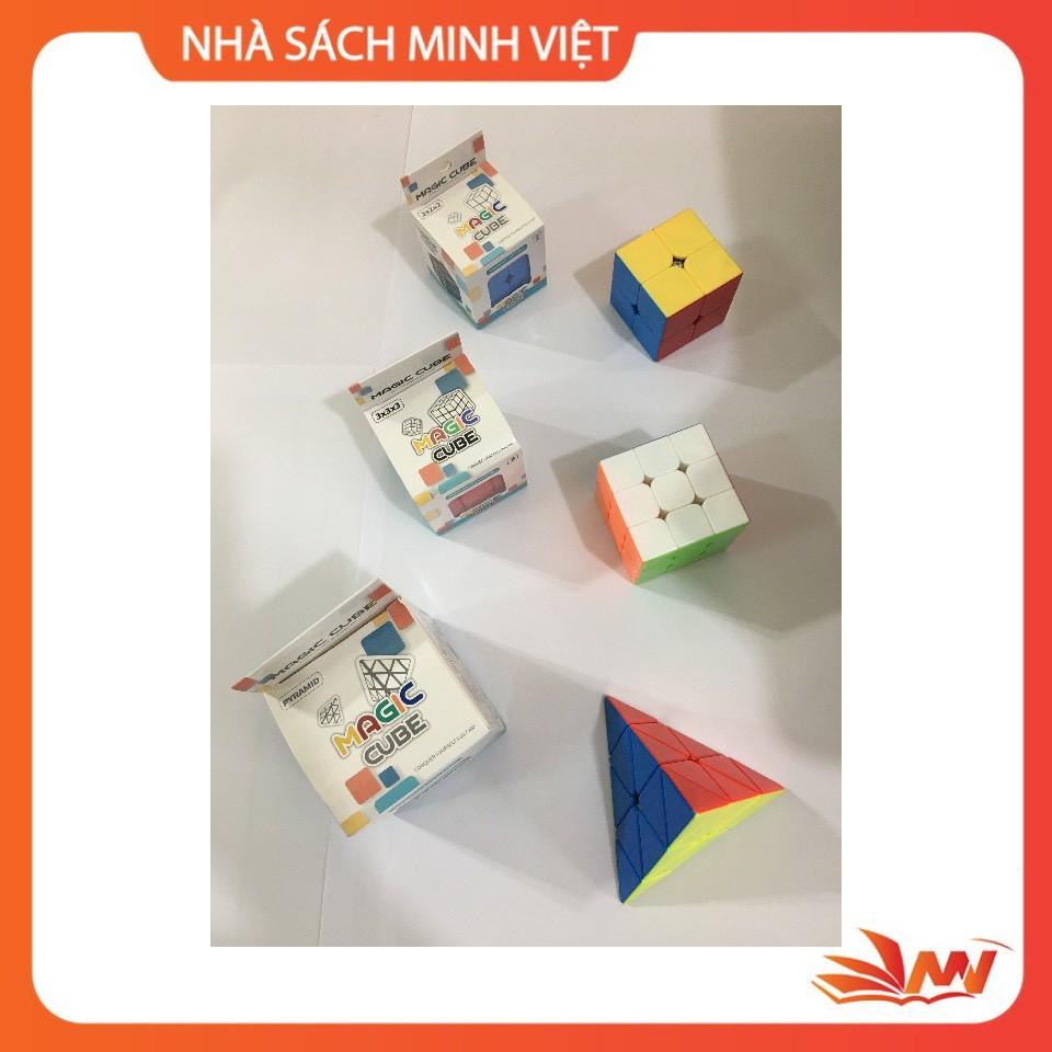 Khối Rubik 2x2x2, 3x3x3 và tam giác vuông