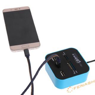 HUB USB 2.0 M2 TF MS đa năng cho đầu đọc thẻ nhớ SD MMC