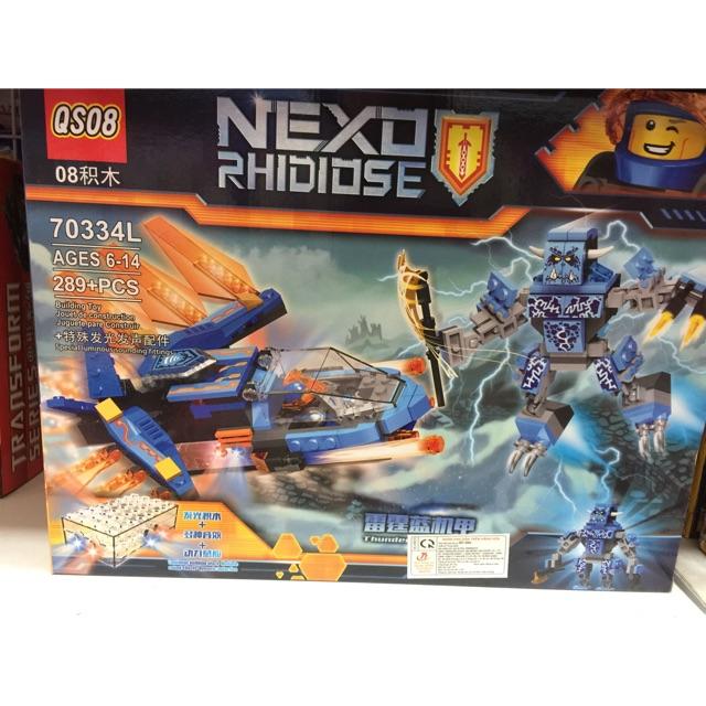 Lego nexo 70334L-tàu bay chiến đấu