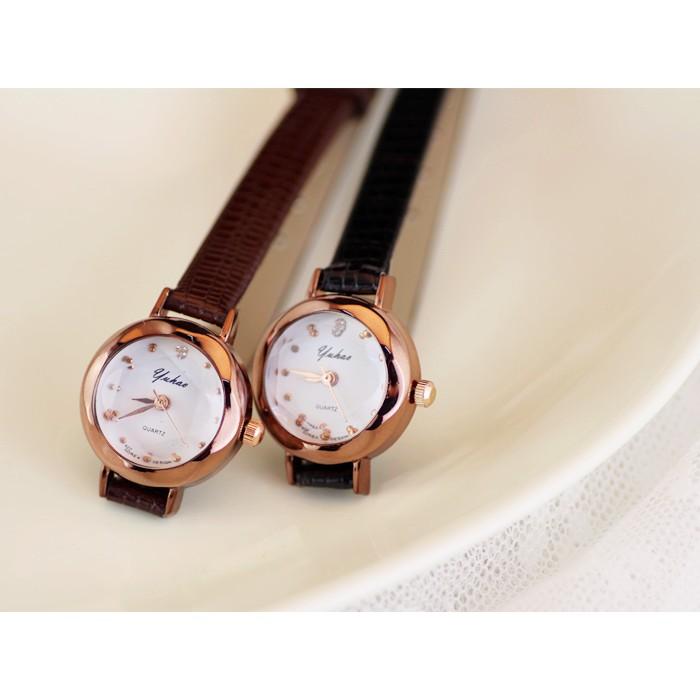Đồng hồ nữ YUHAO dây da mặt kính khối 3D nhí xinh xắn YH68 - 3455923 , 959134003 , 322_959134003 , 200000 , Dong-ho-nu-YUHAO-day-da-mat-kinh-khoi-3D-nhi-xinh-xan-YH68-322_959134003 , shopee.vn , Đồng hồ nữ YUHAO dây da mặt kính khối 3D nhí xinh xắn YH68