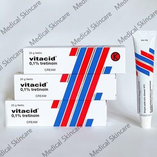 Vitacid 0.1% Tretinoin-Kem hỗ trợ giảm mụn và trẻ hoá da