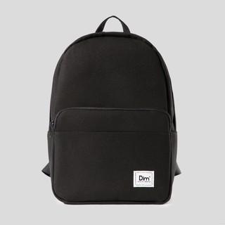 """Balo DIM Classic Backpack (Balo Đi Học, Vải Canvas Trượt Nước, Đựng Vừa Laptop 15"""", Ngăn Tối Ưu Đựng Đồ) – Màu Đen / Xám"""