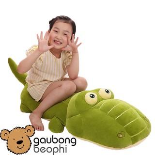 Cá sấu bông siêu đáng iêu cho bé, hàng nhập, vải siêu mềm