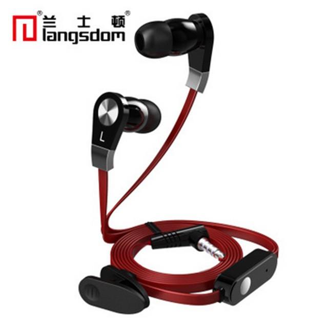 Tai nghe nhét tai Langdom JM02 có Micro hỗ trợ đàm thoại -dc2117