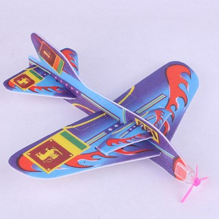 NBY❤❤New Stretch Flying Glider Planes Children Kids Toys Wholesale