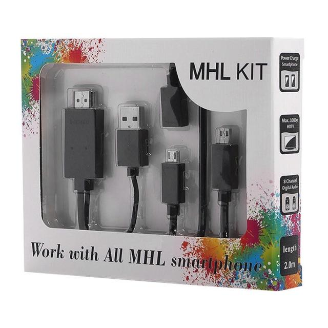 MHL KIT To HDMI cáp đa năng chuyển đổi từ điện thoại lên tivi - 3203690 , 383101733 , 322_383101733 , 80000 , MHL-KIT-To-HDMI-cap-da-nang-chuyen-doi-tu-dien-thoai-len-tivi-322_383101733 , shopee.vn , MHL KIT To HDMI cáp đa năng chuyển đổi từ điện thoại lên tivi