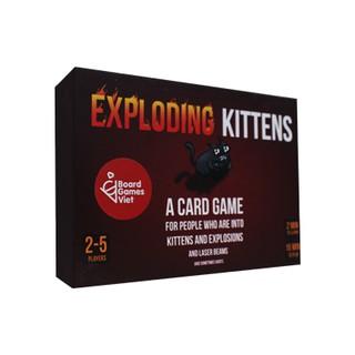 Boardgame Mèo Nổ (phiên bản Việt hóa) (16-/18+)