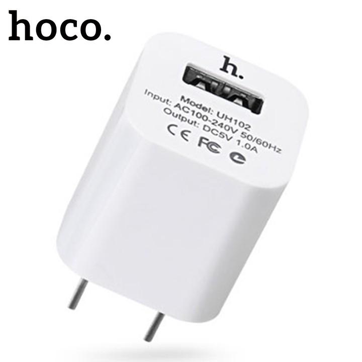 [ Chính hãng ] Củ Sạc Điện Thoại Củ sạc Hoco UH102 5V/1A - BH 12 Tháng Chính Hãng