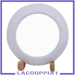 Đèn Led 3d Hình Mặt Trăng Kèm Gương Soi Cho Phòng Ngủ Trẻ Em
