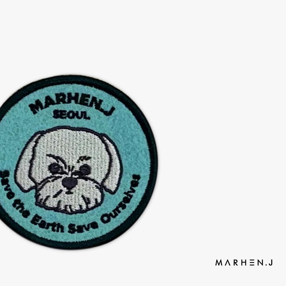 Marhen.J - Huy hiệu cài túi xách hình tròn Friends Wappen MJ21DWAPTF-MT