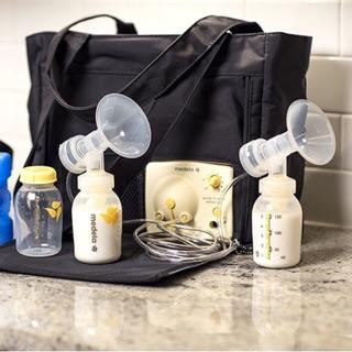 Máy hút sữa medela pump đôi (phiên bản có túi) hàng thanh lý