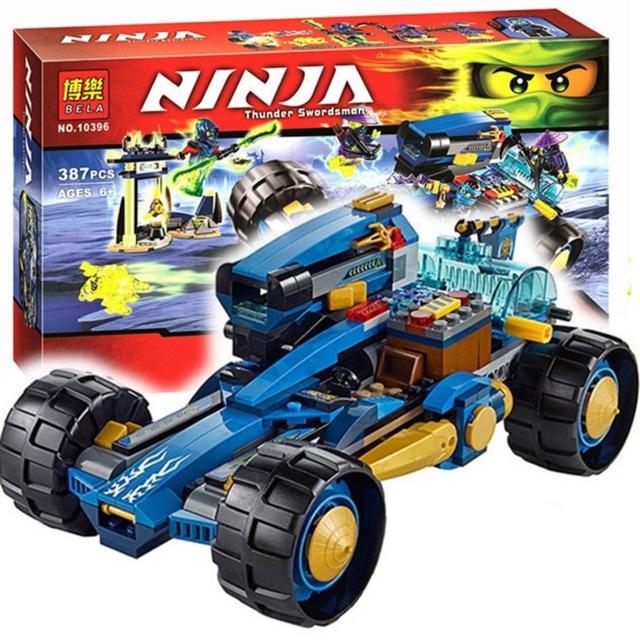 Lego Ninja 10396 - Xe của kẻ lữ hành
