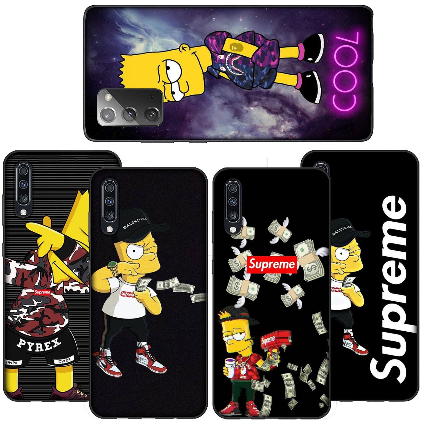 Ốp Điện Thoại Silicon Mềm Hình The Simpsons Cho Xiaomi Redmi Note 5 Pro Plus 5a 4x S2 Mi Poco X3 Nfc Pocophone F1 A44