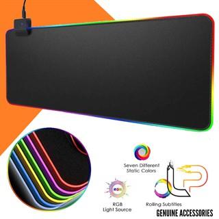 Bàn di chuột có led - lót chuột chơi game có led RGB - tấm lót chuột chơi game Mousepad LED RGB thumbnail