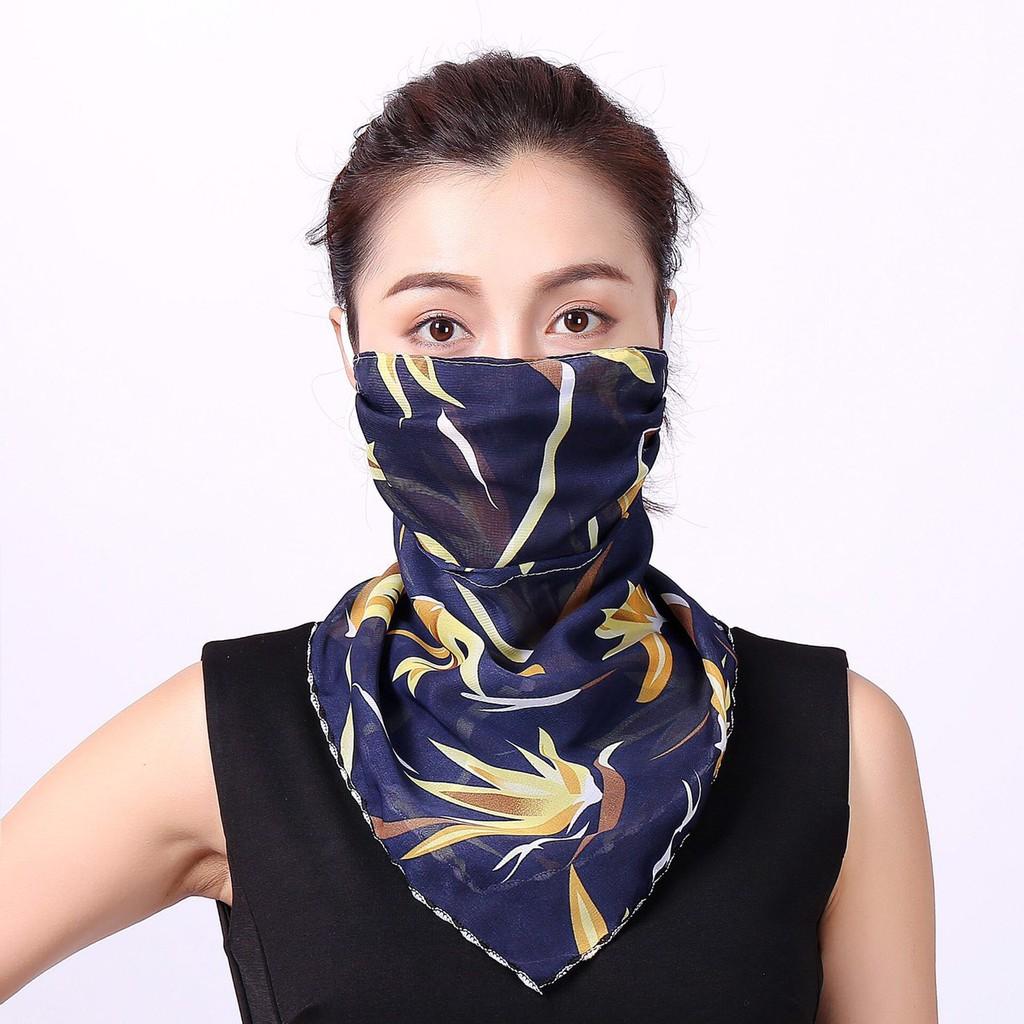 Combo 3 khẩu trang khăn quàng tiên nữ xinh xắn