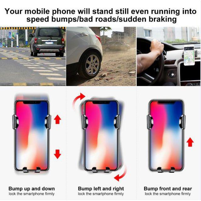 Đế kẹp điện thoại hít chân không trên ô tô - Baseus SUYL-XP09 Chính Hãng