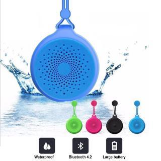 Loa Bluetooth không dây Q50 Loa mini di động ngoài trời Cốc hút Phòng tắm Loa Bluetooth không thấm nước thumbnail