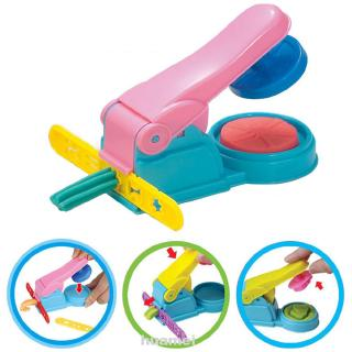 Early Education Playing Kids Toy Slime Press Colorful 3D Effect DIY Accessory Dough Model Clay Modeling Plasticine Tool