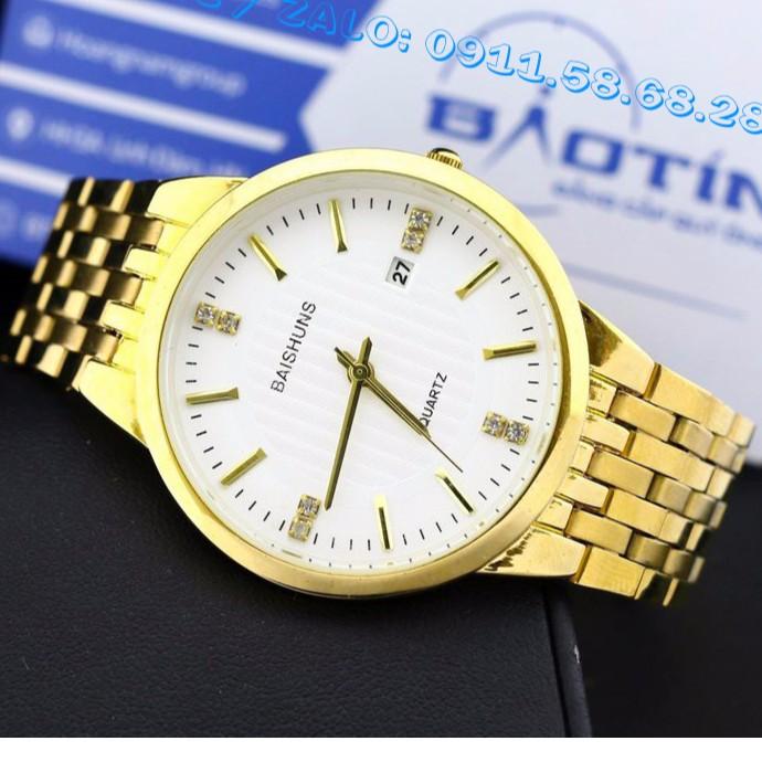 Đồng hồ Nam dây thép không gỉ cao cấp BAISHUNS mã DHBA1122