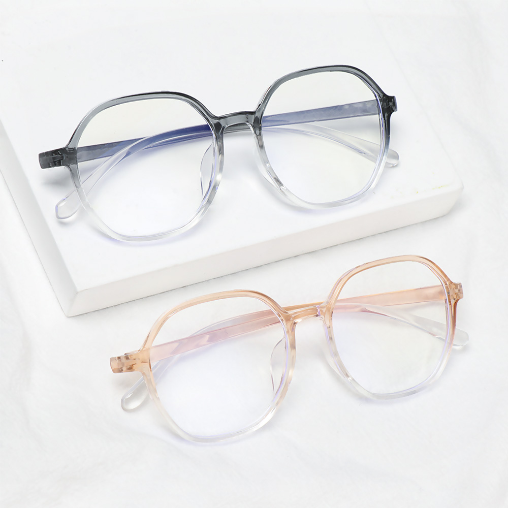 CLEVER Fashion Myopia Glasses Radiation Protection Flat Mirror Eyewear Computer Goggles Vision Care Anti-UV Blue Rays Ultralight Unisex Eyeglasses