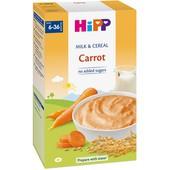Bột rau củ và sữa dinh dưỡng HiPP Carrot (6M)
