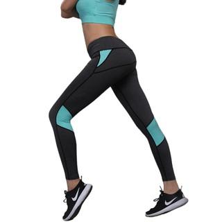 Quần tập Gym, Yoga chất liệu Polyester mềm, co giãn tốt dành cho nữ