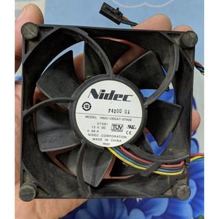 Quạt tản nhiệt Nidec 92x92x32mm 12v 0.88A thumbnail