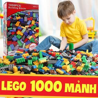 Đồ chơi trẻ em xếp hình LEGO 1000 Chi tiết Loại 1 nhựa an toàn – Đồ chơi lắp ghép xếp hình cho bé (ĐỒCHƠITRẺEM)