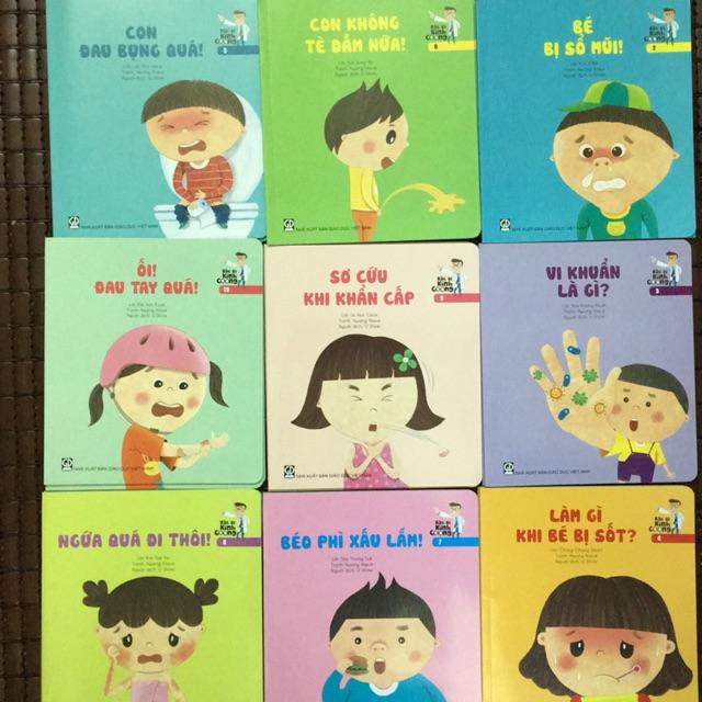Sách- Combo Bộ sách bác sĩ kính coong ( trọn bộ 9 cuốn )