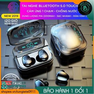 Tai Nghe Bluetooth Cảm Ứng BEST TOUCH TWINS 5.0 Kèm Mic - Chống Nước IPX7, Tự Động Kết Nối, Tương Thích Cao