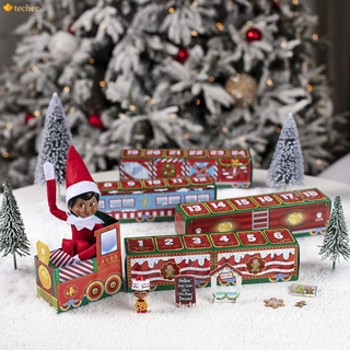 ☀☀ The Elf on the Shelf North Pole Advent Train | Best Advent Calendar for Family Fun 2020 | Elf on the Shelf Accessories 【TH】