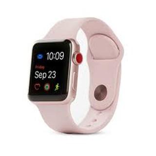 Đồng hồ thông minh giao diện thời trang - Apple Watch dây đeo cao su