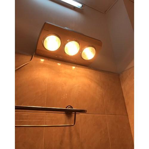 BH 24 tháng.NOWSHIP.Đèn sưởi nhà tắm Camac chống lóa mắt