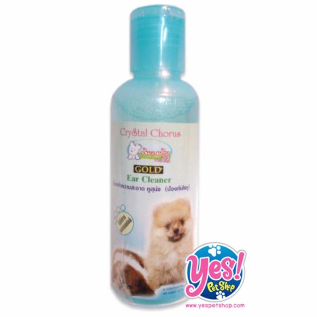 Crystal Chorus น้ำยาเช็ดหู ทำความสะอาดหู,ช่องหูสุนัข 260 cc.โดย Yes pet shopัตว์เลี้ยง Crystal Chorus น้ำยาเช็ดหู ทำความ