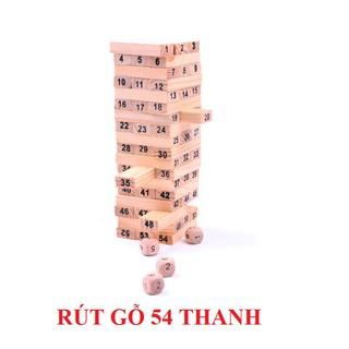 [Nhập TOYMAR giảm 10%] Đồ chơi rút gỗ 54 thanh mini