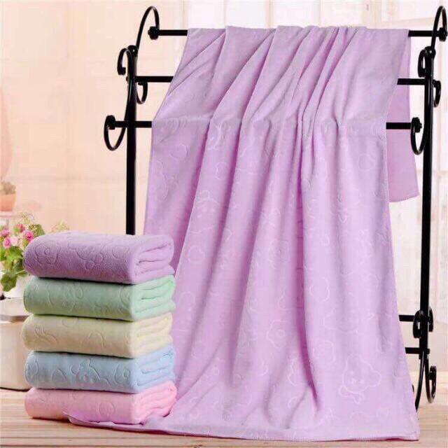 Combo 10 khăn tắm xuất Nhật đủ màu