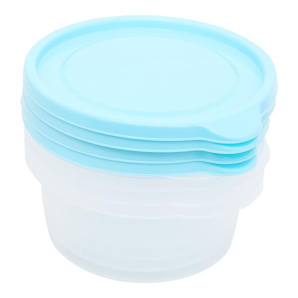 Bộ 5 hộp nhựa tròn CHEF Microban 300ml