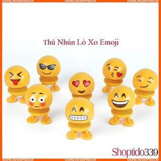 Đồ Chơi Thú Nhún Cảm Xúc Emoji Ngộ Nghĩnh Chọn Mẫu Ngẫu Nhiên Zgoood