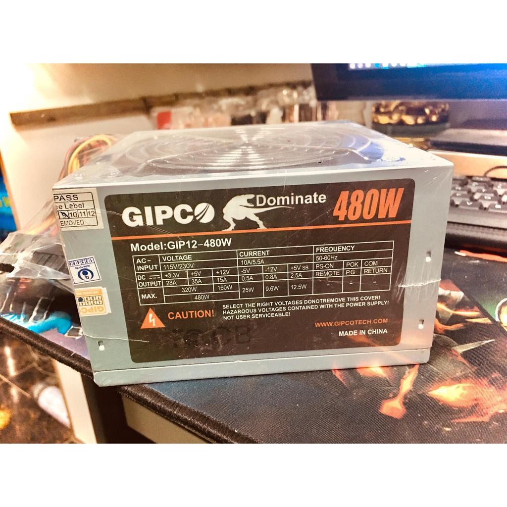 Nguồn Máy Tính GIPCO 480W Fan 12cm