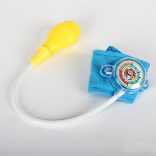 DE❀Children Doctor Toy Nurse Mini Blood Pressure Meter Medical Baby Game Cosplay Pretend Toys