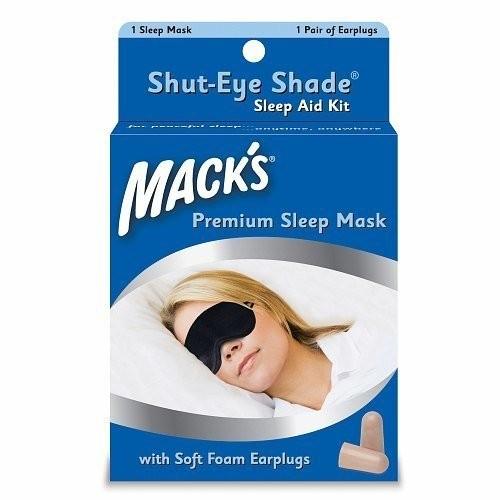 Bộ 2 món che mắt và nút chống ồn khi ngủ Mack