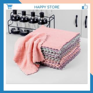 Combo 10 Khăn lau bếp hai mặt chất liệu sợi siêu mịn, dễ dàng giặt sạch như mới sau khi sử dụng thumbnail