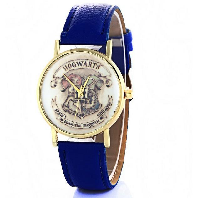 Fashion HOGWARTS Magic School Wristwatch Leather Strap Quartz Watches Xmas Gifts
