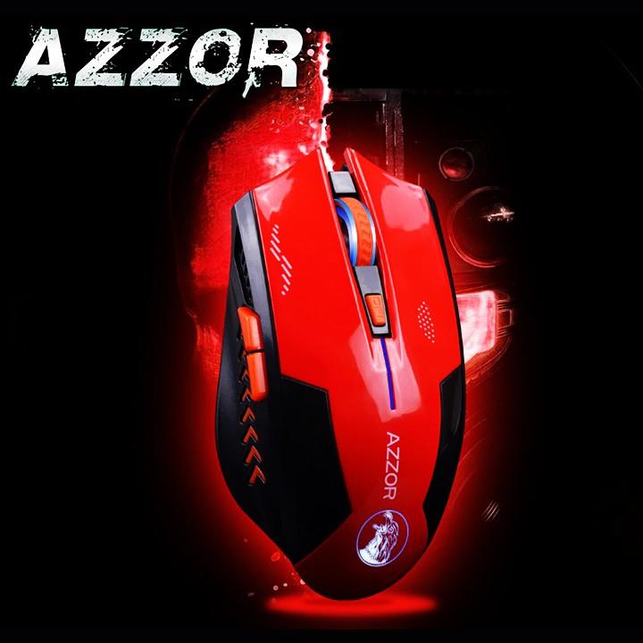 Chuột không dây AZZOR EAGLE tự sạc pin Cao cấp