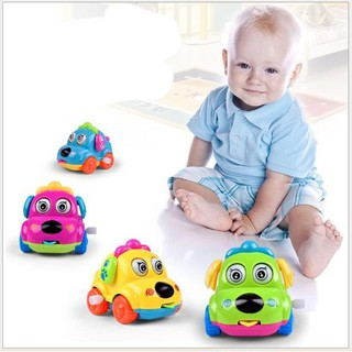 Đồ chơi trẻ em đồ chơi thông minh Ô tô mini cót