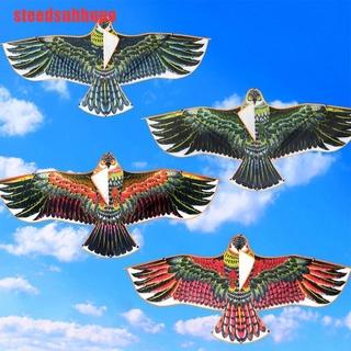 (DSA-COD)1.2m Flat Eagle Kite Children Flying Bird Kites Windsock Outdoor Garden Toys