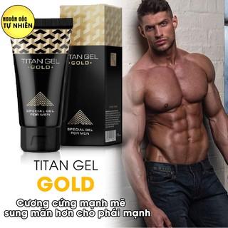 Tăng Kích Thước Dương Vật Không Giới Hạn -Gel Dưỡng Ẩm Titan Gold (50ml) Xuất Xứ Nga Chính Hãng. thumbnail