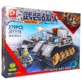 Bộ Lego Xếp Hình Ninjago Siêu Xe Tăng Chiến Đấu. Gồm 270 Chi Tiết. Lego Ninjago Lắp Ráp Đồ Chơi Cho Bé.